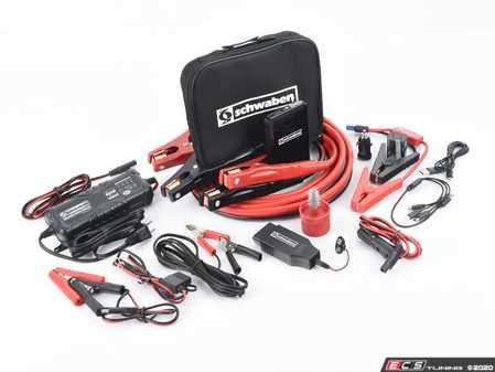 ES#4070023 - schbattKT - Schwaben Jump & Charge Tool Kit - Comprehensive kit to help jump start, maintain, and charge your battery for a healthy electrical system. - Schwaben - Audi BMW Volkswagen Mercedes Benz MINI Porsche