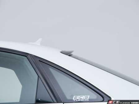 ES#3713982 - 028446ECS01 - Audi B8/B8.5 A4/S4 Rear Window Spoiler - Gloss Black - Add subtle styling to complete the look! - ECS - Audi