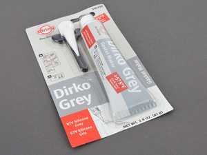 ES#263904 - UN1253000 - Dirko Gray Silicone Sealant - 70mL - Useful for the creation of many gaskets. Max temperature: 300C - Elring - Audi BMW Volkswagen Mercedes Benz MINI Porsche