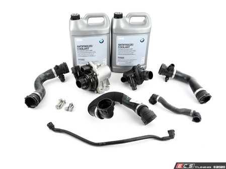 ES#3988228 - 11517632426kt5KT - ECS Cooling System Refresh Kit - Level 1  - An entry level cooling refresh kit - with high quality aftermarket components - Assembled By ECS - BMW