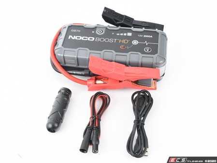 ES#4055329 - NOCGB70 - Noco Genius Boost HD 2000A 12V Lithium Jump Starter - NOCO - Audi BMW Volkswagen Mercedes Benz MINI Porsche