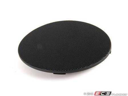 ES#101931 - 51418213912 - Speaker Cover - Right Front - Schwarz/Black. Protects the front door speaker - Genuine BMW - BMW