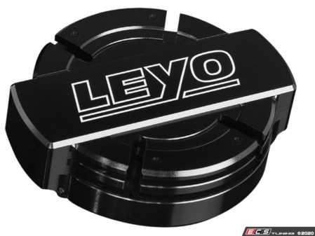 ES#4140296 - L111B  - Billet Expansion Tank Cap - Complete billet aluminum coolant cap assembly to replace your blue or black plastic cap - LEYO - Volkswagen