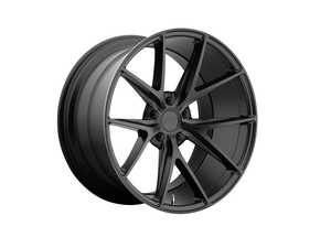 """ES#4140347 - m11720004KT1 - 20"""" Misano - Set Of Four - 20""""x 10"""" ET40 5x112 - Matte Black - Niche Wheels - Audi"""