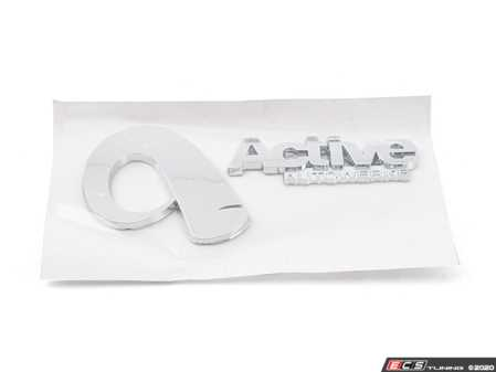 ES#3010476 - AASignaturePlaqu - Active Autowerke Signature Trunk Emblem - Represent your favorite BMW tuner for all to see! - Active Autowerke - BMW