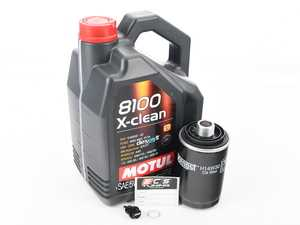 ES#3143342 - 06J115403CKT6 -  Oil Service Kit - With Magnetic Drain Plug - Includes Motul oil, filter, and ECS magnetic drain plug - Assembled By ECS - Audi