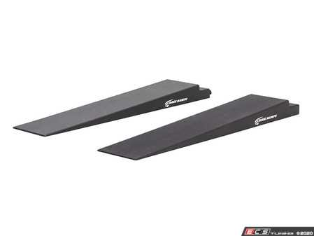 """ES#4070711 - RR-TR-5 - 5"""" High Trailer Ramps - 4.3 Degree Approach Angle - Pair - Avoid scraping or removing the front bumper of your ow profile vehicle as you load it into your trailer! - Race Ramps - Audi BMW Volkswagen Mercedes Benz MINI Porsche"""