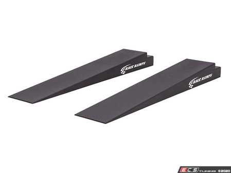"""ES#4141449 - RR-TR-7 - 7"""" High Trailer Ramps - 5.5 Degree Approach Angle - Pair - Avoid scraping or removing the front bumper of your ow profile vehicle as you load it into your trailer! - Race Ramps - Audi BMW Volkswagen Mercedes Benz MINI Porsche"""