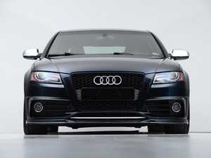 ES#4164865 - 028805ecs01KT - Audi B8 S4 / A4 S-Line Pre-Facelift Front Lip - Gloss Black - Upgrade your exterior styling! - ECS - Audi