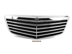 ES#4045716 - W211E63G - W211 E63 Facelift Radiator Grille Assembly - OE Replacement Front Grille - ECS - Mercedes Benz
