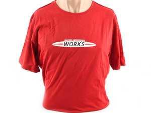 ES#3442681 - 80142454517 - MINI JCW MEN'S Logo T Shirt Logo Chili Red - XL - Show your JCW style with this shirt - Genuine MINI - MINI