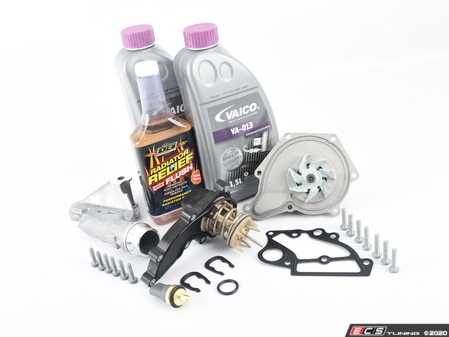 ES#3706541 - 06e121018aktKT - Cooling System Refresh Kit - Level 2  - Replace critical cooling system components and perform a proper coolant system flush! - Assembled By ECS - Audi