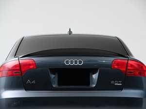 ES#4039668 - 001215LA01 - Audi B7 A4 S-Line / S4 Trunk Spoiler - Gloss Black - Add some aggressive styling to your Audi! - ECS - Audi