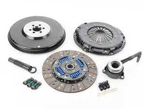ES#3220736 - MB-034-062 -  Stage 2 Performance Clutch Kit - With Single Mass Flywheel - Designed to hold up to 440 ft/lbs of torque to the wheels with a sprung organic disc and steel flyweel - DKM - Audi Volkswagen