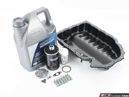 ES#2602497 - 06J103600AFKT2 - Oil Pan Replacement Kit - Everything required to replace your leaking pan, including the oil change - Assembled By ECS - Audi