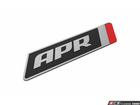 ES#4143534 - A1000005 - APR Flat Badge - Large (70x18mm) - Discretely show that your vehicle is APR Tuned! - APR - Audi Volkswagen Porsche