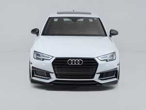 ES#4147652 - 028802ecs01KT - Audi B9 A4/S4 Front Lip Spoiler - Gloss Black - Upgrade your exterior styling! - ECS - Audi