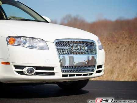 ES#250881 - FKSG33205-2 - Sport Mesh Grille Kit - Chrome - Chrome mesh grille for your Audi A4 - FK -