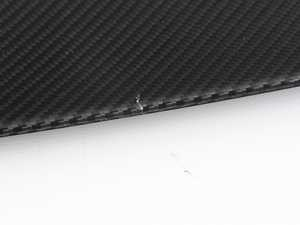 ES#4144958 - 5162215980sd - BMW Performance Carbon Fiber Rear Spoiler - *Scratch And Dent* - High quality clear-coated carbon fiber in a low profile minimalist design that accentuates the stock body lines and adds a subtle touch to the rear end. - Genuine BMW M Performance - BMW