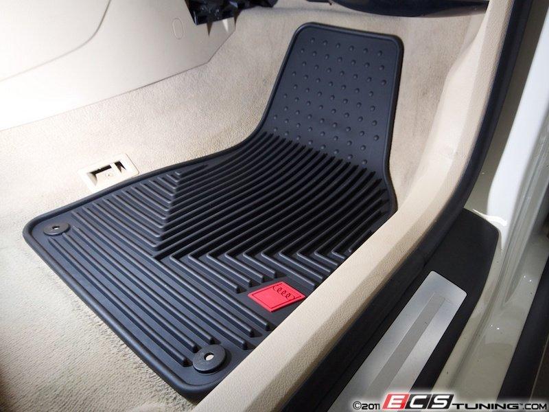 ECS News Audi B A T All Weather Floor Mats - Audi a4 car mats