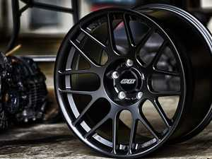 "ES#4056197 - ARC8R188538SBKT - 18"" APEX ARC-8R Square Wheel Set - Satin Black - The APEX forged ARC-8R is a significant step forward. Now lighter and stronger than the original flow formed version and with completely redesigned barrel profiles that clear 380mm big brakes. 18x8.5 ET35 72.5CB. - APEX Wheels - BMW MINI"