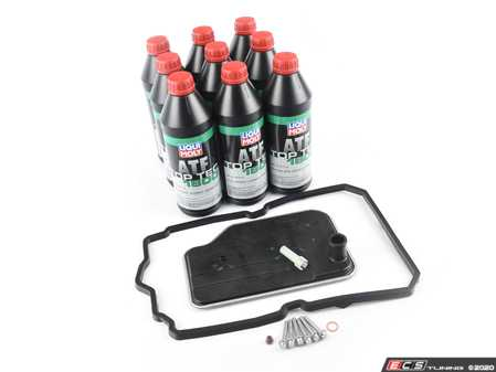 ES#3988095 - 2212770195KT6 - Automatic Transmission Service Kit - 722.9 - Featuring Liqu-Moly Top Tec 1800 Mercedes-Benz Approved Spec 236.12 236.14 Synthetic ATF - Assembled By ECS - Mercedes Benz