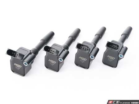 ES#4069106 - 871643 - MSD Blaster Series Black Ignition Coils - Set Of Four - Performance coil packs from the company that knows ignition systems! - MSD Performance - Audi Volkswagen