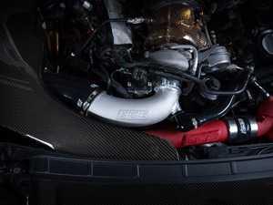 ES#3647752 - 027714ECS01 - Audi B9 S4/S5 3.0T Big Bore Cast Aluminum Turbo Inlet Pipe - Remove the plastic and reduce restriction at your turbo - ECS - Audi