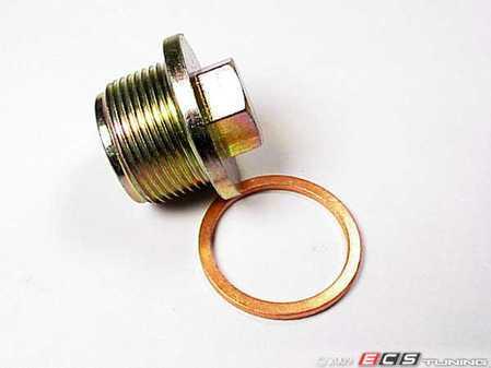 ES#2189 - 059103193KT - Oil Drain Plug Kit - Includes copper sealing washer. M26x1.5 - Assembled By ECS - Audi Volkswagen
