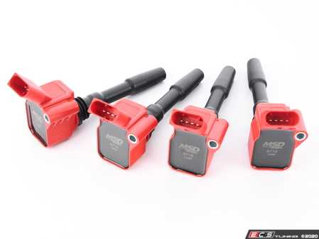 ES#4069105 - 87164 - MSD Blaster Series Red Ignition Coils - Set Of Four - Performance coil packs from the company that knows ignition systems! - MSD Performance - Audi Volkswagen