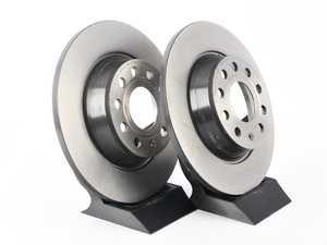 ES#3184409 - 1K0615601ADKT22 -  Rear Brake Rotors - Pair (282x12) - Restore your stopping power in your vehicle - Brembo - Audi Volkswagen