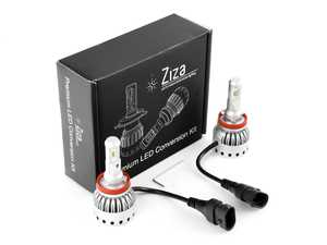 ES#4138604 - 003452LB01-04 - H8/H9/H11 Premium LED Conversion Kit  - Set of 2 4500lm, 60W combined plug and play LED headlight bulbs with a compact all-in-one design - ZiZa - Audi BMW Volkswagen Mercedes Benz MINI Porsche