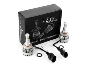 ES#4138605 - 003452LB01-05 - 9005 Premium LED Conversion Kit  - Set of 2 4500lm, 60W combined plug and play LED headlight bulbs with a compact all-in-one design - ZiZa - Audi BMW Volkswagen Mercedes Benz MINI Porsche