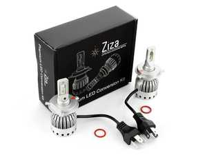 ES#4138602 - 003452LB01-02 - H4 Premium LED Conversion Kit  - Set of 2 4500lm, 60W combined plug and play LED headlight bulbs with a compact all-in-one design - ZiZa - Audi BMW Volkswagen Mercedes Benz MINI Porsche