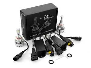 ES#4146787 - 003452lb01-05KT - 9005 Premium LED Conversion Kit - With Can-Bus Decoders - Set of 2 4500lm, 60W combined plug and play LED headlight bulbs with a compact all-in-one design. Includes a pair of Can-Bus Decoders for error-free operation! - ZiZa - Audi BMW Volkswagen Mercedes Benz MINI Porsche