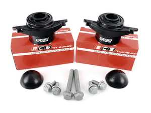 ES#4147086 - 016554ECS03-01KT - ECS Heavy Duty Rear Shock Mounts - With Install Hardware - Upgrade to a more durable rear shock mount without sacrificing comfort! Improve longevity and ride control all at once. - ECS - Audi Volkswagen