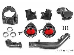 ES#3458324 - EVE-F8XM-CF-INT - Carbon Fiber Intake Kit V2 - Full kit intake system from Eventuri! - Eventuri - BMW