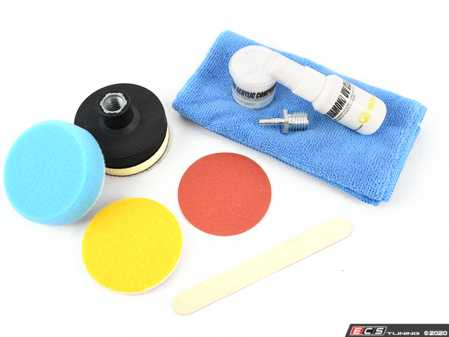 ES#3677051 - PHDIY - Starter Plus Diamond Clear Headlight Repair Kit - Gets your headlights looking like new again. - Glass Technologies - Audi BMW Volkswagen Mercedes Benz MINI Porsche