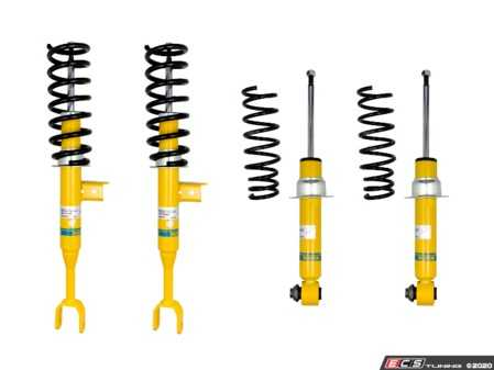 ES#2983734 - 46-181152 - B12 Pro-Kit Suspension System - Expertly matched performance Eibach Pro-line lowering springs and Bilstein shock/strut package for a dramatic increase in performance handling. World-famous Bilstein quality with a limited lifetime warranty! - Bilstein - BMW