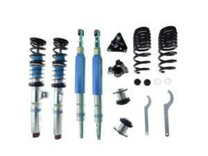 ES#2984116 - 48-227018 - Bilstein Clubsport Coilover System - Premium track and sport road coilover system featuring 10 way adjustable compression and rebound with an integrated reservoir, camber plates, and monotube design for extreme durability, custom ride control, and ease of use. - Bilstein - BMW