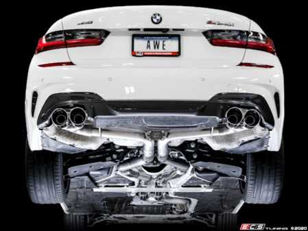 ES#4147598 - 3020G20M340 - AWE Track Edition Exhaust For G20 M340i - AWE - BMW