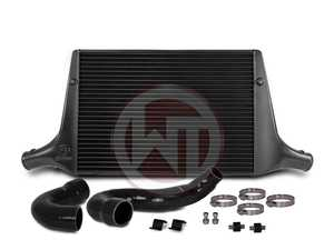 ES#4000014 - 200001137 - 17-19 Macan 2.0TFSI Performance Intercooler Kit - Providing 178% more frontal area and 158% more volume compared to the stock mounted intercooler - Wagner Tuning - Porsche