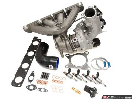 ES#4147635 - 034-145-1015 - R410 Turbo Upgrade Kit & Tuning Package - The R410 Turbo Kit was designed for the track day enthusiast looking for increased horsepower and torque throughout the powerband, without sacrificing response and reliability. - 034Motorsport - Audi Volkswagen