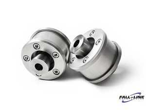 ES#4147563 - FLM-F87-1BUNI - Front Mono Ball Conversion Kit - Eliminate rubber bushings for improved handling and suspension feel! - Fall Line - BMW