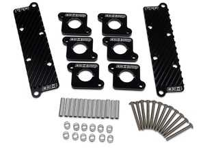 ES#4147794 - 034-107-Z032 - 034Motorsport Coil Pack Hold-Down Bracket Kit - Keep your upgraded 2.0T style coil packs cool and seated with the 034Motorsport Coil Pack Hold-Down Bracket Kit for Audi B5 S4/RS4 & C5 A6/Allroad 2.7T vehicles! - 034Motorsport - Audi