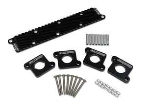 ES#4147796 - 034-107-Z028 - 034Motorsport Coil Pack Hold-Down Bracket Kit - Keep your upgraded 2.0T style coil packs cool and seated with the 034Motorsport Coil Pack Hold-Down Bracket Kit for Audi B5/B6 A4, 8N TT, VW, MkIV Beetle, MkIV GLI/Golf/GTI/Jetta/Rabbit, B5 Passat 1.8T vehicles! - 034Motorsport - Audi Volkswagen