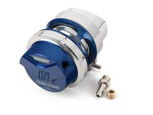 ES#4007245 - TS-0204-1131 - Turbosmart Gen-V Race Port BOV - Blue - The Race Port is famous for being an amazingly small and light BOV for turbocharged competition level engines - TurboSmart - Audi Volkswagen