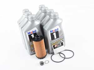 ES#3659060 - 9a210722500KT - 718 Cayman / Boxster Oil Change Kit (0w-40) - All Genuine Components to Service your 718 Cayman or Boxster - Genuine Porsche - Porsche
