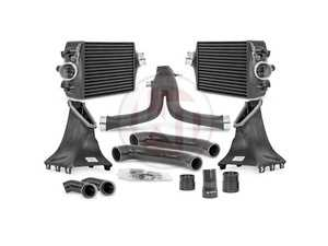 ES#4148256 - 700001099-991.2 - Competition Package Intercooler Kit - With Y-Charge Pipe - 40% more volume compared to the stock mounted intercoolers - Wagner Tuning - Porsche