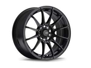 """ES#4148414 - DI57100355KT - 15"""" KONIG Dial Flow Formed Wheel Set - Gloss Black - 15x7 4x100 ET35 with correct hubcentric ring for the 56.1CB fitment - Konig - MINI"""